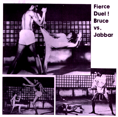 Fierce Duel! Bruce Lee vs. Jabbar
