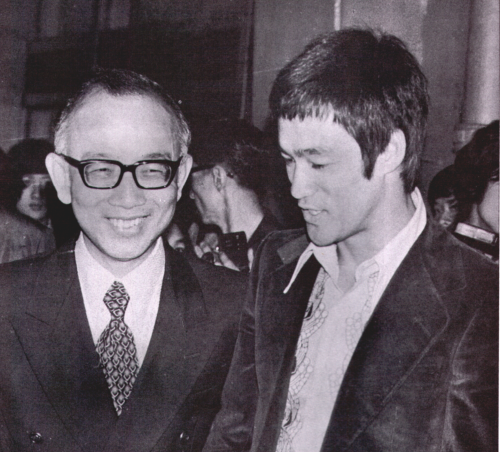 Bruce Lee & Raymond Chow in Suits