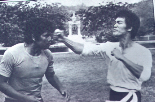 That Bruce Lee One Inch Punch